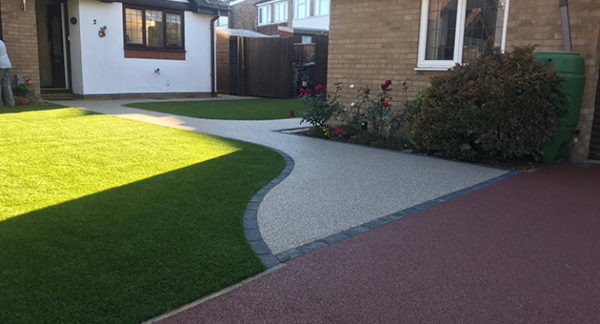 DIY artificial grass and resin | Milton Keynes