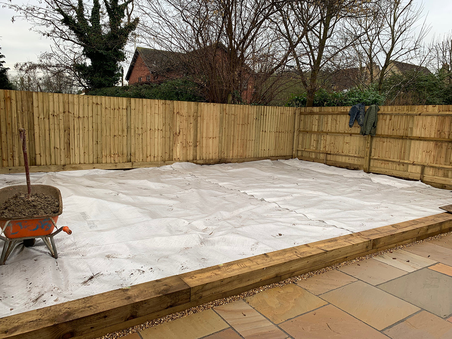 How to lay artificial grass step 2