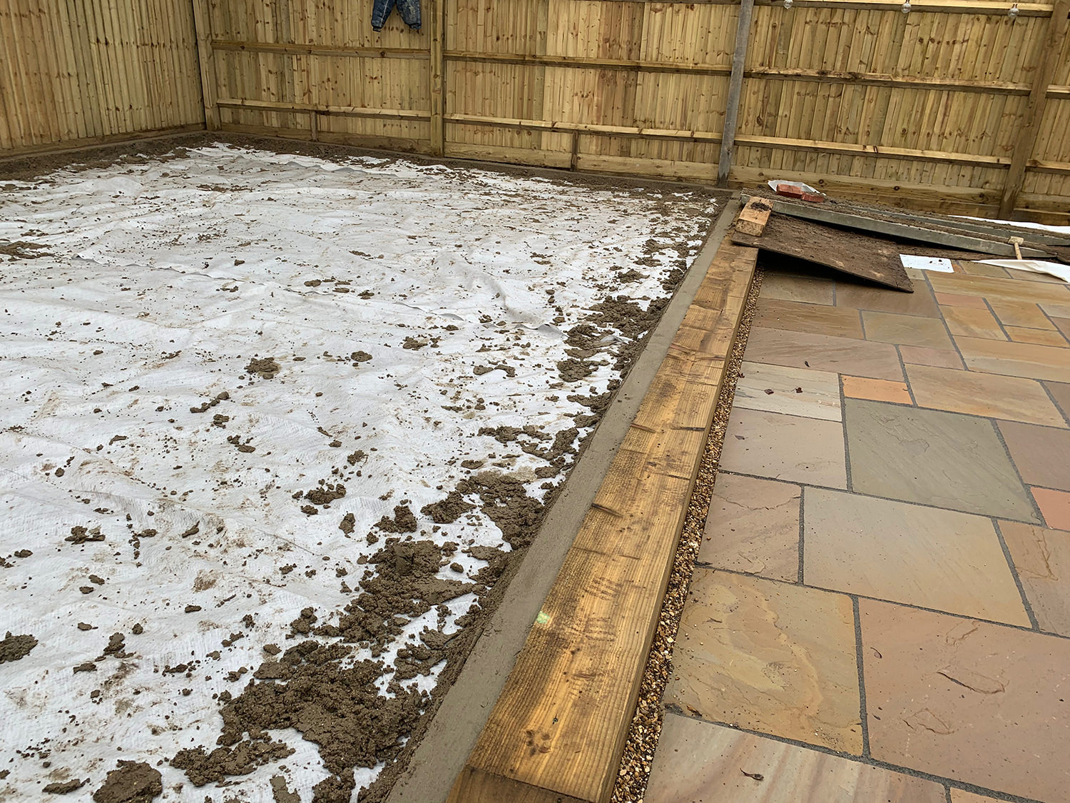 How to install artificial grass step 3