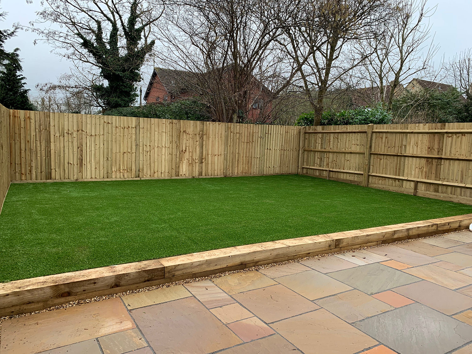 How to install artificial grass step 8